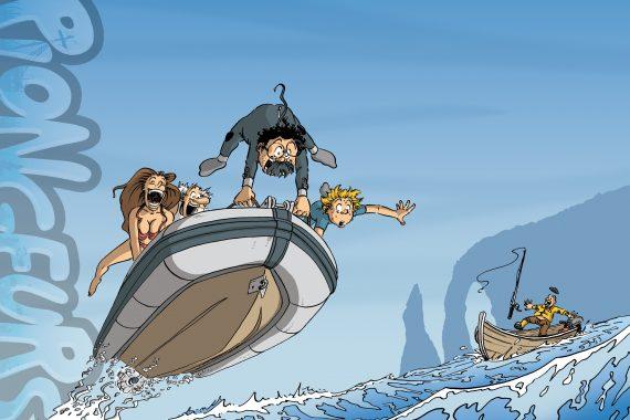les plongeurs bd