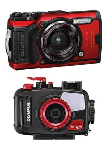 Olympus TG6 appareil photo étanche avec caisson pour plonger