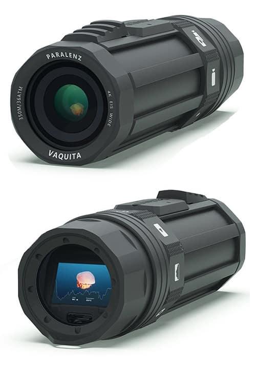 Paralenz Vaquita caméra spéciale pour la plongée sous-marine